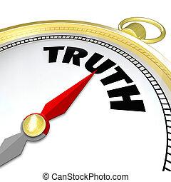 conscience, mot, honnêteté, plomb, sincérité, vérité, compas