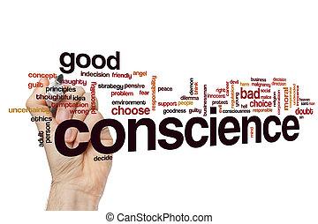 Conscience word cloud