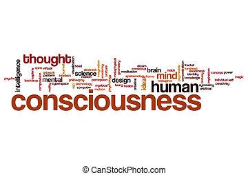 Consciousness word cloud