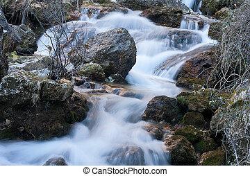 consecutive waterfalls - consecutives waterfalls in a small ...