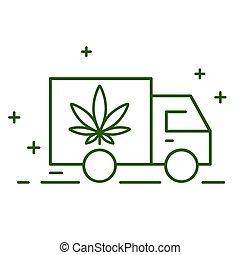 consegna, cannabis., legalization., marijuana