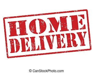 consegna casa, francobollo