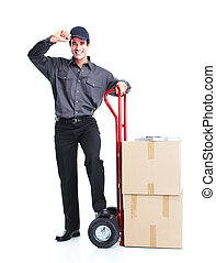 consegna, lavoratore