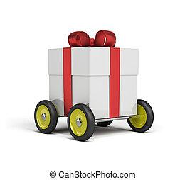 consegna, regalo