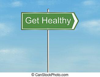 conseguir, healthy.