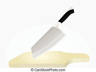 conseil bois, couteau
