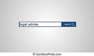 conseil, légal, ligne