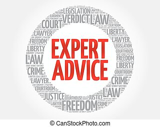 conseil, mot, expert, nuage