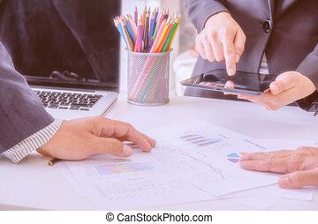 conseiller, consultant, team., business