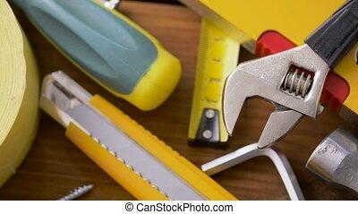 conseils, travail, bois, outils, différent