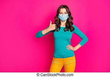 consejo, color, agradable, gasa, viral, sano, pandemia, ...
