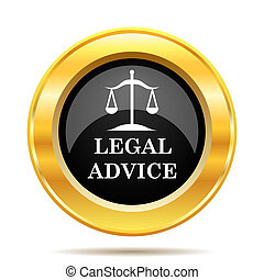 conselho, legal, ícone
