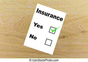 Consent to the insurance contract