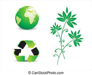 conservação ambiental, símbolos