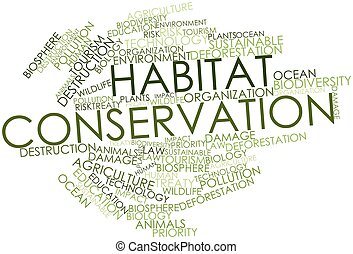conservação, habitat