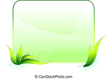 conservazione ambientale, sfondo verde