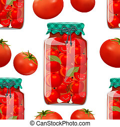 conserve, tomate, seamless, texture
