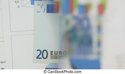 Consider a banknote of twenty euros, an increase with a...