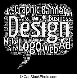 considerations, concepto, palabra, tela, texto, diseño ...