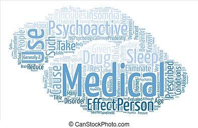 considerations, concepto, palabra, texto, psychoactive, ...