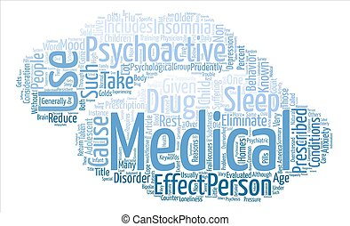 Considerations for Psychoactive Medications text background...