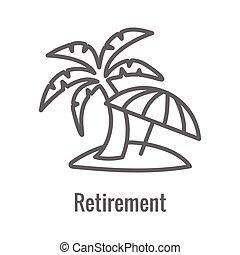 considerations, icono, retiro, generacional, -, conjunto, ...