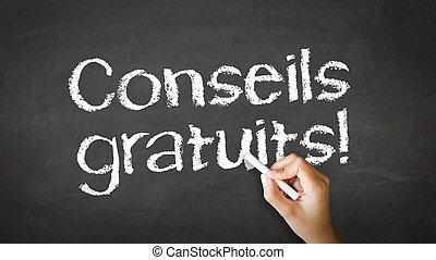 consiglio gratis, (in, french)
