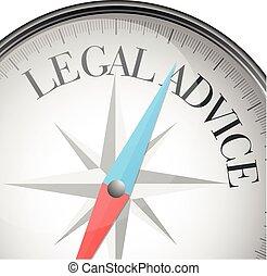 consiglio, legale, bussola