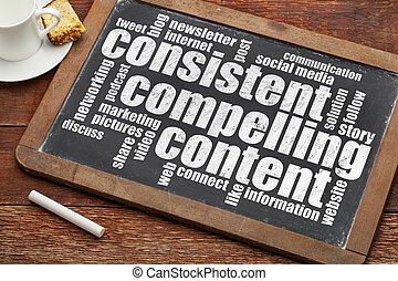consistent, compelling content - recommendation for bloging ...