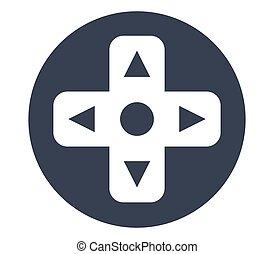 console, jeu, conception