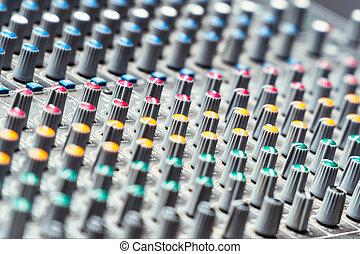 console mélange, studio
