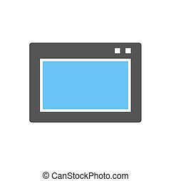 Console - Sound, volume, console icon vector image.Can also...
