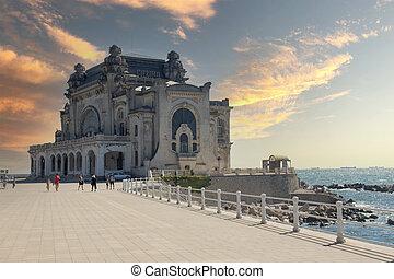 Constanta Casino historic building, Old casino, Romania.