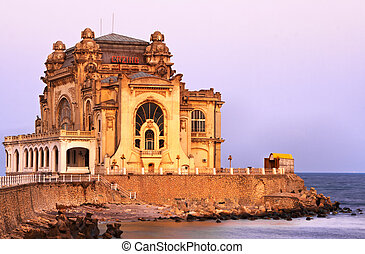 Constanta casino - Image at the sunset of The Casino from...