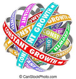 constante, obtenir, always, amélioration, mieux, croissance,...