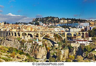 Constantine, the third largest city of Algeria