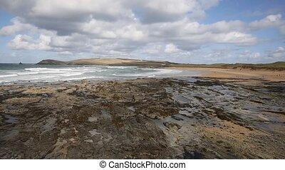 Constantine Bay Cornwall England uk