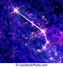Constellation Aries in the sky