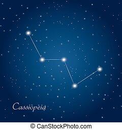 constellation, cassiopeia