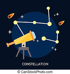 Constellation Conceptual illustration Design