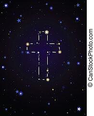 constellation, croix