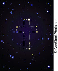 Constellation cross