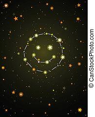 Constellation of happiness