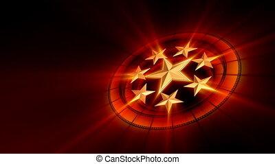 Constellation of movie stars - Films and stars orbiting...