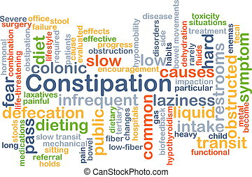 Constipation background concept - Background concept...