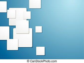 constitué, carrés, technologie, fond