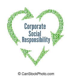 constitué, csr, responsabilité, social