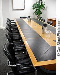 constitué, salle réunion, bureau