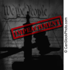 constituição, nós, impeachment, gavel, legal
