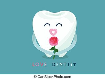 constitutions, tandlæge, af, tand